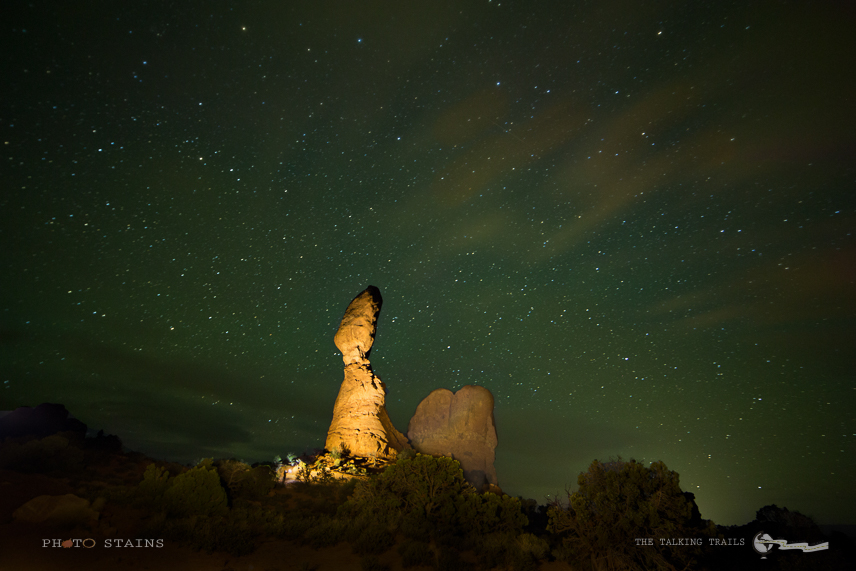 NIght Photgraphy Arches National Park