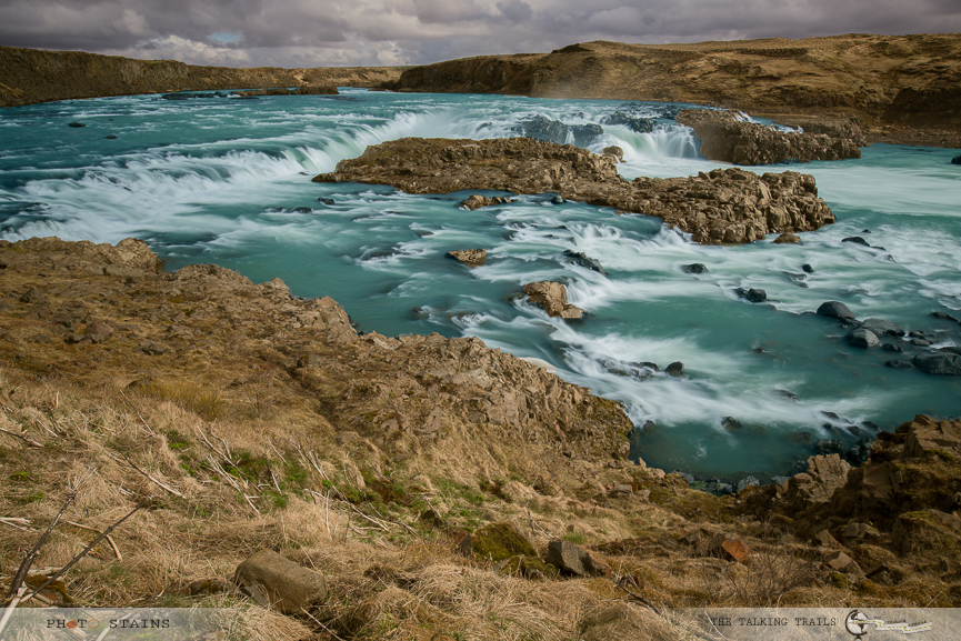 Urriðafoss by The Talking Trails in waterfalls of Iceland