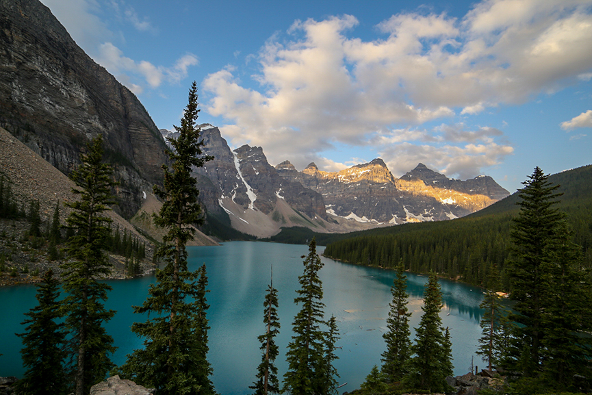 Moraine Lake by The Talking Trails