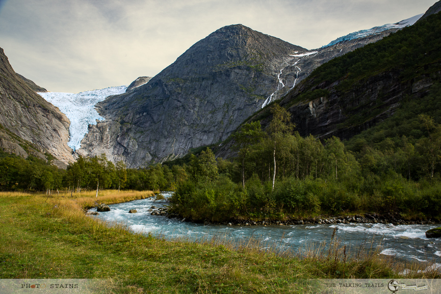Briksdal Glacier by The Talking Trails