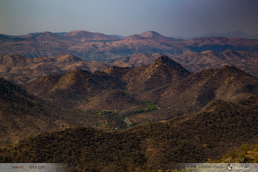 View From Sajjangarh by TheTalkingTrails