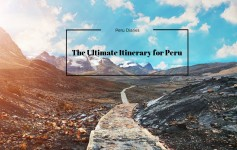 Peru Itinerary by TheTalkingTrails